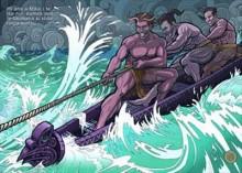 maui e as lendas maori