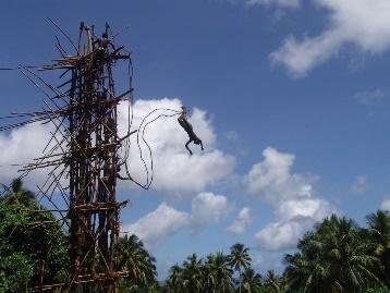 Vanuatu bungee jumping