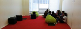 Business School Student lounge
