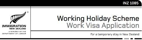Working Holiday Visa NZ