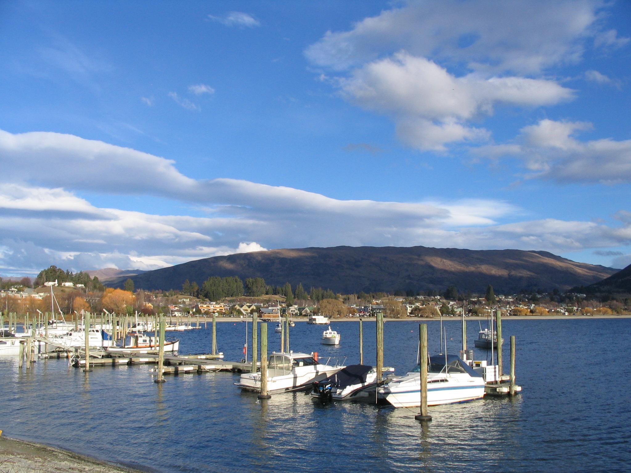 O Lake Wanaka proporciona diversas atividades ao ar livre, para seus moradores e visitantes.
